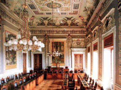 Palazzo Regio Ca. Aula consiliare